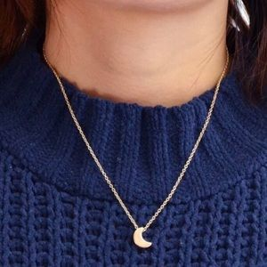 3/ $30 Dainty Mystic Moon Charm Necklace